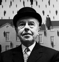 Photograph of René Magritte