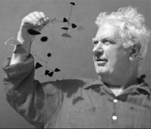 Photograph of Alexander Calder