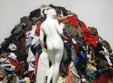 "Michelangelo Pistoletto and Rachel Whiteread in ""Masterworks from the Hirshhorn Collection"""