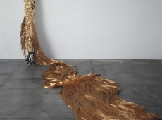 "Janine Antoni and Tunga in ""Invisible Adversaries"""