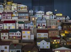 """Rachel Whiteread's """"Place (Village)"""""""
