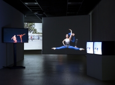 "Charles Atlas in ""Merce Cunningham: Common Time"""