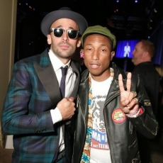 """Pharrell Williams, Usher, Robert De Niro, and More Attend The Gordon Parks Foundation Awards Gala"""