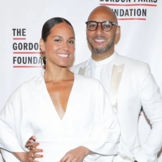 ALICIA KEYS AND SWIZZ BEATZ TALK THE IMPORTANCE OF ART AT THE GORDON PARKS FOUNDATION GALA