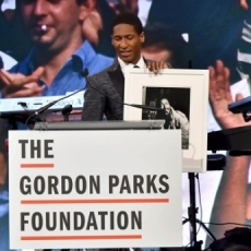 Jon Batiste Honored at the Gordon Parks Foundation Awards Dinner