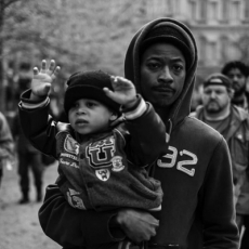 """Devin Allen, the photographer who captured Baltimore's uprising, shows us his """"beautiful ghetto"""""""