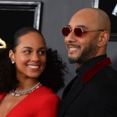 Alicia Keys and Swizz Beatz take in Gordon Parks photography show at Harvard