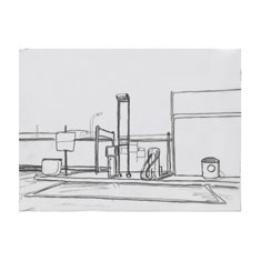 Study for Texaco Drawing
