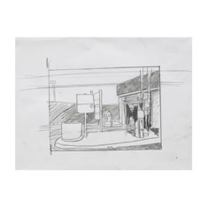 Study for Texaco L Drawing