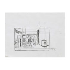 Study for Texaco R Drawing