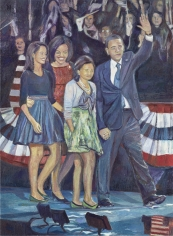 Keith Mayerson Obama's Night