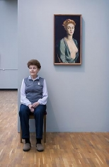 Andy Freeberg, Nathan Altman's Portrait of I.P. Degas, State Tretyakov Gallery, 2008