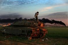 """Rina Castelnuovo """"Gaza Border"""" 2009"""