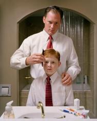 ANGELA STRASSHEIM Untitled (Father & Son), 2004