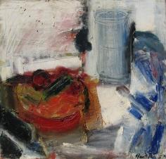Grace Hartigan, Still Life with Cucumber
