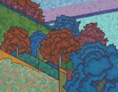 Easton Pribble, October Hillside