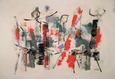 John Von Wicht, Harbor Abstraction 1956