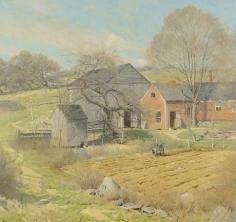 Ogden Pleissner, The Red House