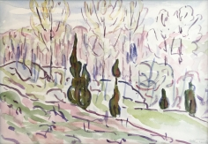 Allen Tucker, Poplars