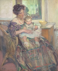 Richard Miller, Mother and Child