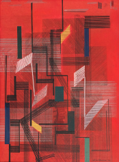 Irene Rice Pereira, Untitled Abstract