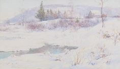 Walter Launt Palmer, Snow and Open Waters