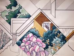 Easton Pribble, House and Garden