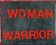 Betty Tompkins Woman Warrior, 2015