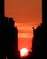 Manhattanhenge l, 2014