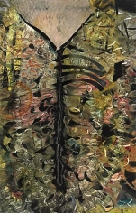 Lanust, 2011,oil on canvas,86.5 x 55 inches