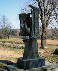 Missa Solemnis IV, 1974-75,Bronze,98 x 43 x 22 inches,ed. II/III