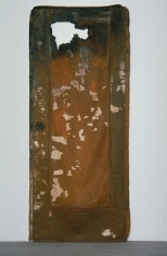 ROBERT OVERBY, Door With Hole