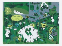 Gary Panter at Fredericks & Freiser
