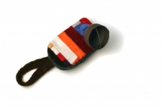 aaron decker, brooch, fiber