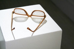 Ted Noten, Dutch Design, acrylic, glasses