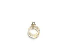 Ted Noten, acrylic ring, brooch