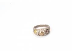 Karl Fritsch white gold diamond ring