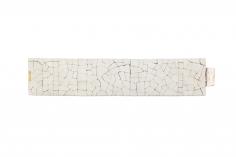 John Iversen Crackle bracelet, silver