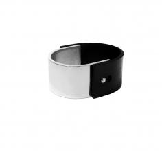 Ruudt Peters Rubber Aluminum bracelet