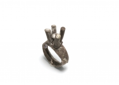 Karl Fritsch, German, contemporary jewelry, rings, new zealand, diamond