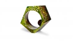Petra Zimmermann, contemporary art jewelry, Austria, Vienna, Acrylic