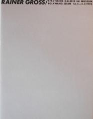 1993 - Ohne Worte - Museum Folkwang, Germany
