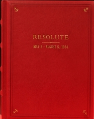 "The Log of the America's Cup Yacht ""Resolute""  May 2 - Aug 5, 1914"