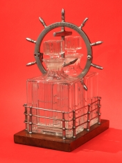 "Yacht ""Rip Tide"" NYYC Decanter Trophy"