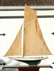 Period Model of the America's Cup Yacht RESOLUTE