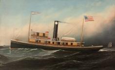 Tugboat CK Buckley by Antonio Jacobsen
