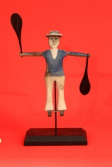 Carved and Painted Small Sailor Whirligig (FA-1051  )
