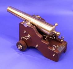 Breach Loading Signal Cannon Presented by Sir Thomas Lipton