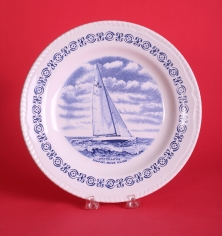 Yacht Constellation Plate 1974 America's Cup
