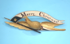 """Merry Christmas"" Eagle by John Haley Bellamy"